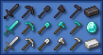 Consistent Tools - Bedrock Minecraft Texture Pack
