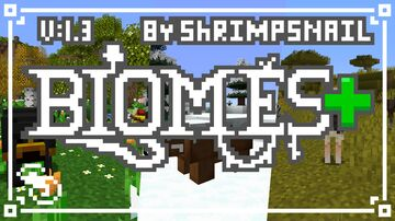 Biomes+  -  v1.3 Minecraft Texture Pack