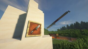 Trident Glaive Minecraft Texture Pack