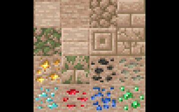Desert Stone (Optifine) Minecraft Texture Pack