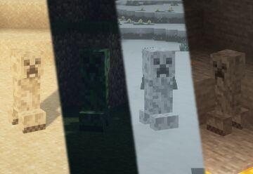 Yomny_pack (Camo Creeper) Minecraft Texture Pack
