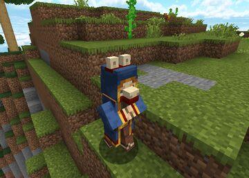 Literally Wandering Llama Trader Minecraft Texture Pack