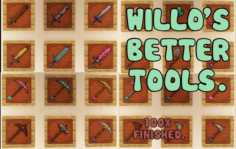 Willo's better tools (100% finished)