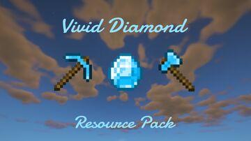 Vivid Diamond Resource Pack (1.16/1.17) Minecraft Texture Pack