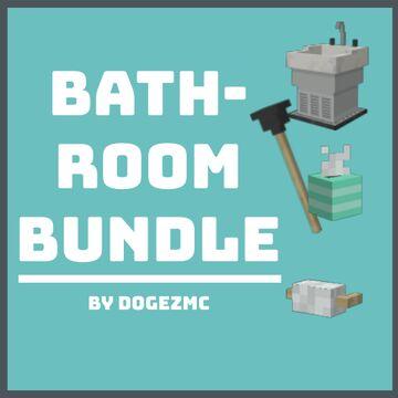 [1.16.5+] Bathroom Bundle (3D) - No Optifine Required Minecraft Texture Pack