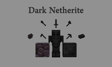 Dark Netherite Minecraft Texture Pack