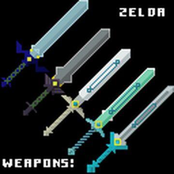 The Legend of Zelda Sword Pack (1.17.1) Minecraft Texture Pack