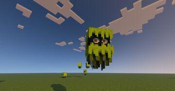 """New Minecraft Mob """"GLARE"""" recreation Minecraft Texture Pack"""