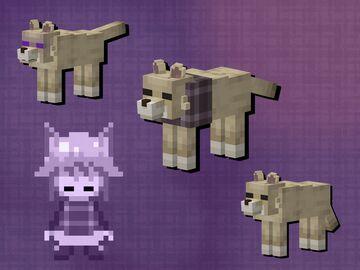 Urotsuki wolf [Optifine] Minecraft Texture Pack