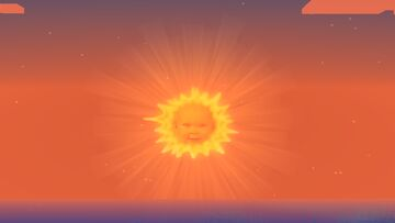 Sun Baby From The Teletubbies [Now With Meatball Man As The Moon] Minecraft Texture Pack