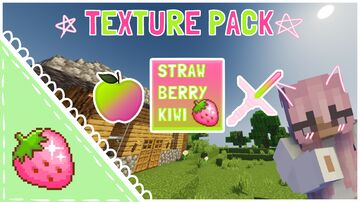 Strawberry Kiwi PvP 1.8+ Minecraft Texture Pack