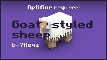 Goat Styled Sheep Minecraft Texture Pack