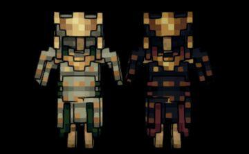 Spirits | Samurai Gear Minecraft Texture Pack