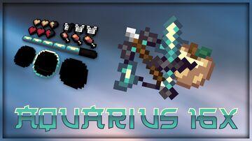 Aquarius 16x|Pack Release|1.8.9|jaxxthatsall_ Minecraft Texture Pack