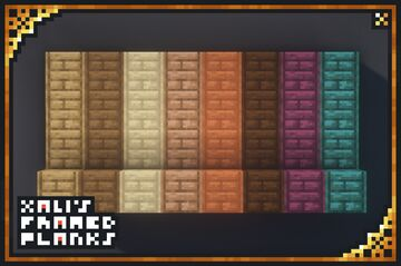 xali's Framed Planks Minecraft Texture Pack