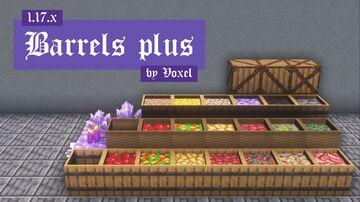 Barrels plus 1.17 Minecraft Texture Pack