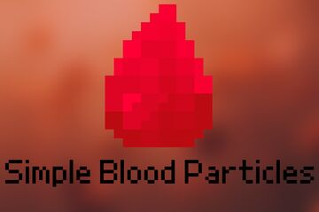 Damage Particles to Blood Particles Minecraft Texture Pack