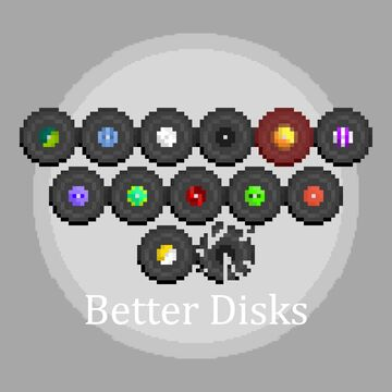 Better Disks Minecraft Texture Pack