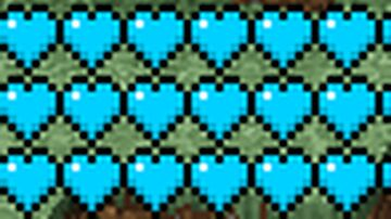 Blue Hearts Minecraft Texture Pack