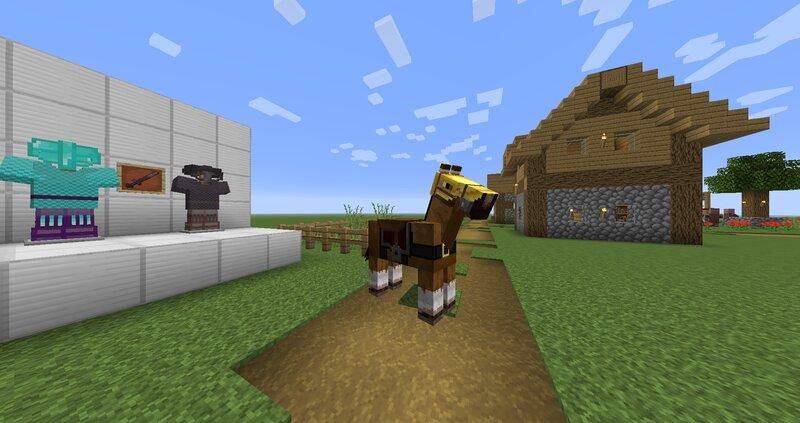 Horse armor preview