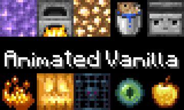 Animated Vanilla v1.2 (Work In Progress) Minecraft Texture Pack