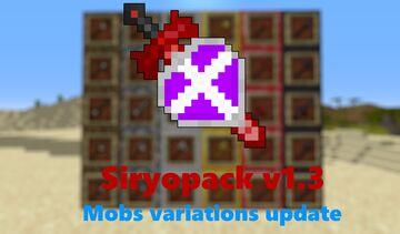 Red Diamond & Tools Edit - siryopack [1.16 - 17] Minecraft Texture Pack