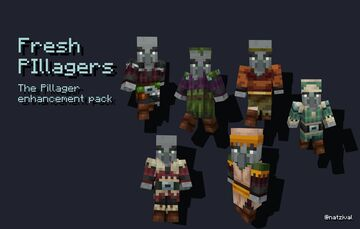 Fresh Pillagers Minecraft Texture Pack