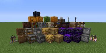 3D models of blocks Minecraft Texture Pack