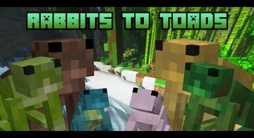 Rabbits to Toads 🐸 Minecraft Texture Pack