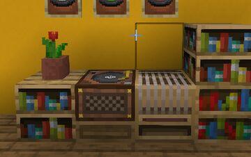Record Player Jukebox Minecraft Texture Pack