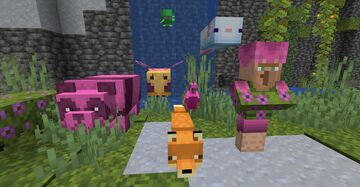 Lush Mob Pack Minecraft Texture Pack