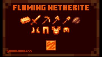 Flaming Netherite - 1.17 Minecraft Texture Pack