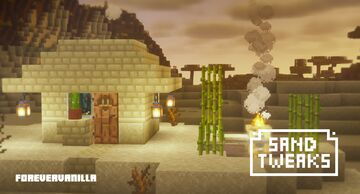 Sand tweaks (ForeverVanilla) Minecraft Texture Pack