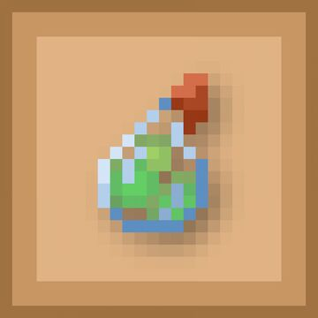 Accurate Exp Bottles - Bedrock Minecraft Texture Pack