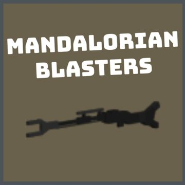 [1.16.5+] Mandalorian Blasters (3D) - No Optifine Required Minecraft Texture Pack