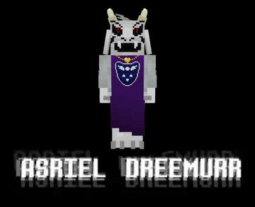 Asriel Dreemurr Minecraft Texture Pack