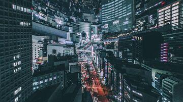 Tokyo Night Sky Minecraft Texture Pack