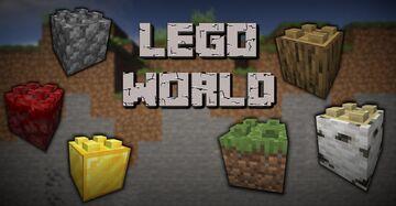 Lego World - Lego in Minecraft! [1.17.x] Minecraft Texture Pack