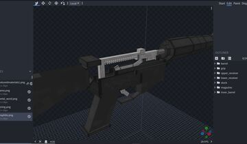 Quality Armory - M16 Minecraft Texture Pack