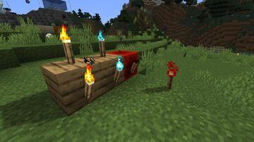Biome-Dependent Torches (Optifine Required) Minecraft Texture Pack
