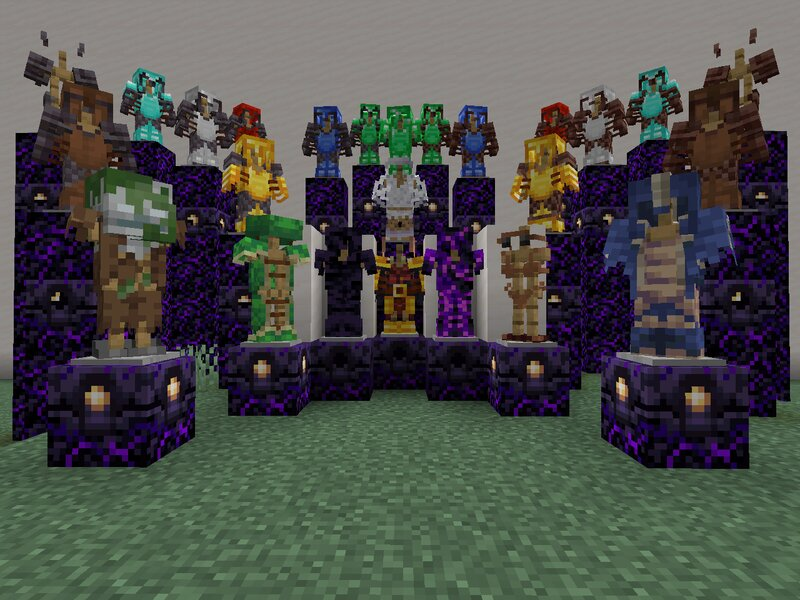 New textures for the armor! White zombie armor and white rabbit textures