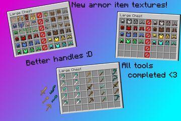 McR - Gear Overhaul alternative resourcepack! Minecraft Texture Pack
