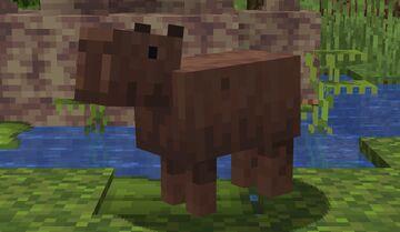 Pigs to Capybaras Minecraft Texture Pack