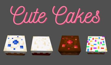 Cute Cakes Minecraft Texture Pack
