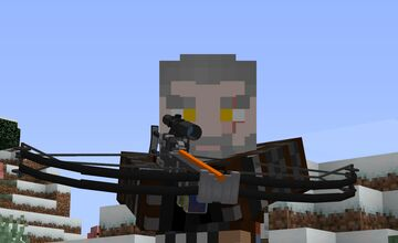 HALF-LIFE GUNS   Crossbow! (1.16.5+) Minecraft Texture Pack