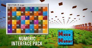 Numeric Interface Pack [MazeMaker] Minecraft Texture Pack