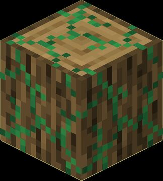 Mossy logs Minecraft Texture Pack