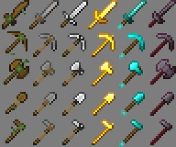 sSnIpEr02's Tools Minecraft Texture Pack