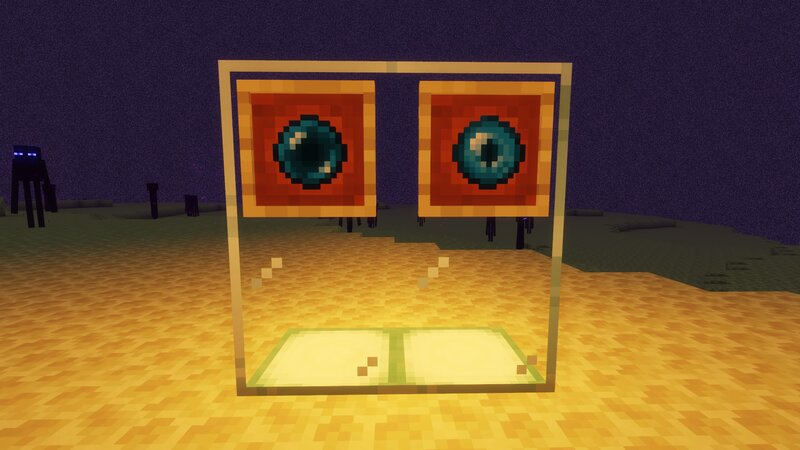 Enderpearl and Ender Eye