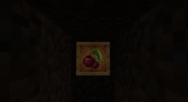 Cherry in the dark
